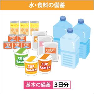 水食料の備蓄